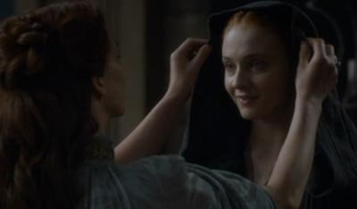Meet your crazy Aunt, Sansa.