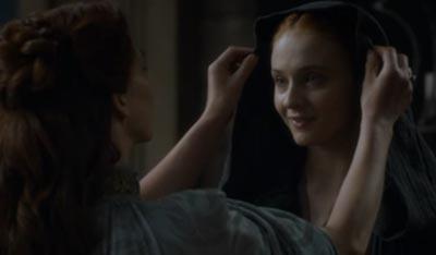 Meet your crazy Aunt, Sansa.