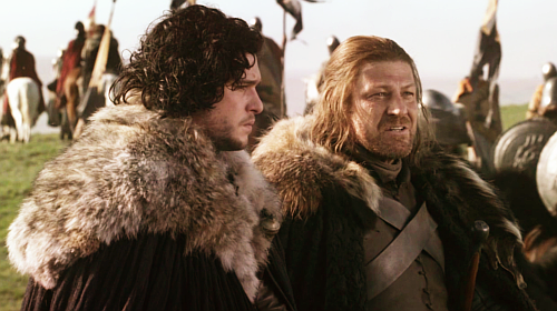 """You're not my son, Jon Snow."""