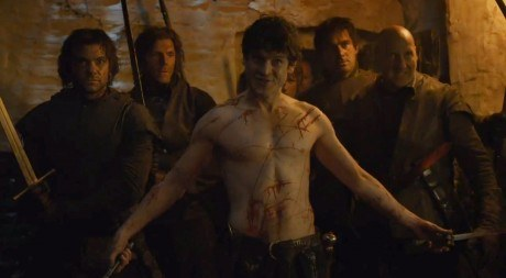 Ramsay Snow is one scary psycho.